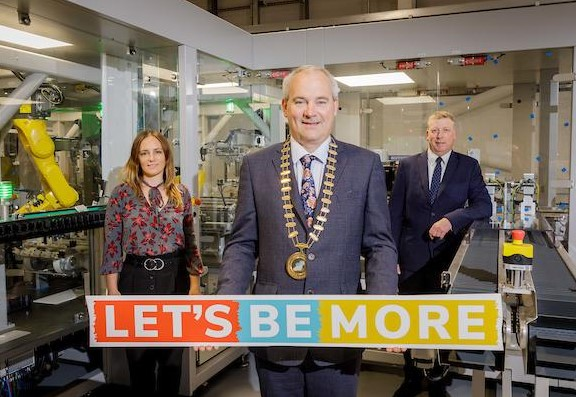 Shauna Ward, Ward Automation, The Chairperson of the Northern & Western Regional Assembly David Maxwell and The CEO of Sligo Chamber of Commerce, Aidan Doyle