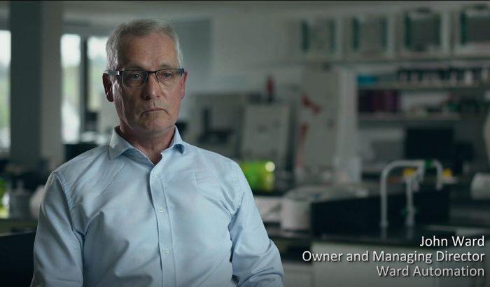 John-Ward-Ward Automation Welcomes AbbVie Video